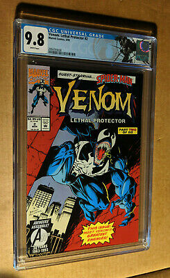 Venom Lethal Protector #2 1st Print Bagely Cover Spiderman CGC 9.8 NM+/M Label