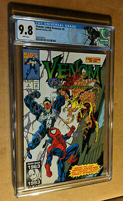 Venom Lethal Protector #4 1st Appearance of Scream Bagley CGC 9.8 NM+/M Label