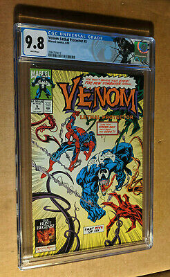 Venom Lethal Protector #5 1st Appearance Lasher Riot Agony CGC 9.8 NM+/M Label