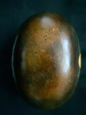 """mineral precious """"painted rock"""" Chinese nephrite white JADE boulder 2222 grams"""