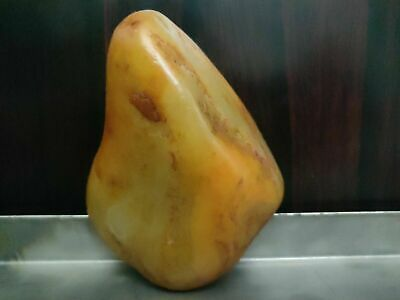 """mineral precious stone """"painted rock""""  Chinese nephrite jade boulder 257 grams"""