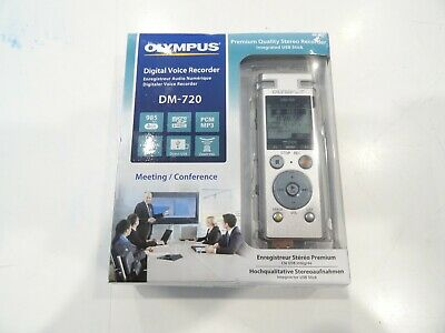 New Never Used - Olympus Digital Voice Recorder DM-720