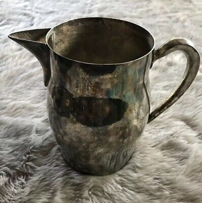 Vintage Sheffield Silver Co Water Pitcher with Ice Guard