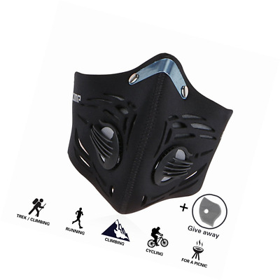 GoingMen Anti Pollution Dust Half Face Mask with 2 Activated Carbon Air Filters