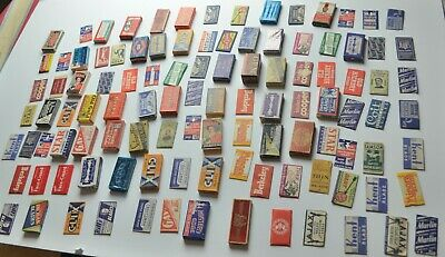 Very Large Collection of Antique Razor Blades No Reserve Auction