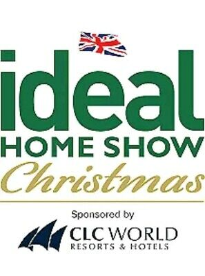 2x IDEAL HOME SHOW TICKETS CHRISTMAS WEDNESDAY 20th NOV LONDON OPENING DAY!
