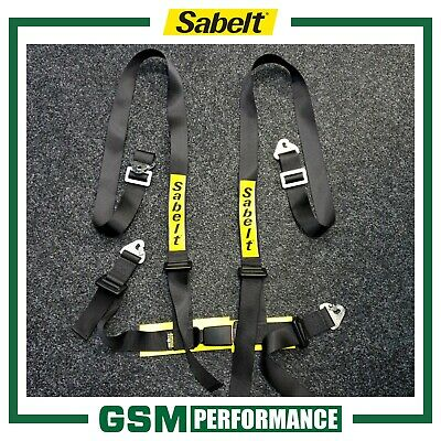 Pair Of Sabelt 4 Point Clip In Clubman Harnesses