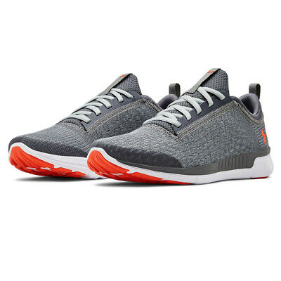 Under Armour Junior Lightning GS Running Shoes Trainers Sneakers Grey Breathable