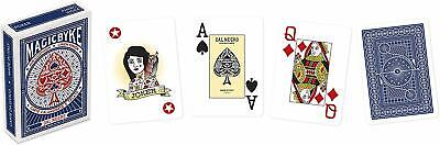 Carte da gioco Poker DAL NEGRO MAGIC BYKE JUMBO Scala 40 Ramino Burraco Blu