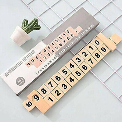 Puzzle Stationery Combination and Decomposition Digital Decomposition Ruler