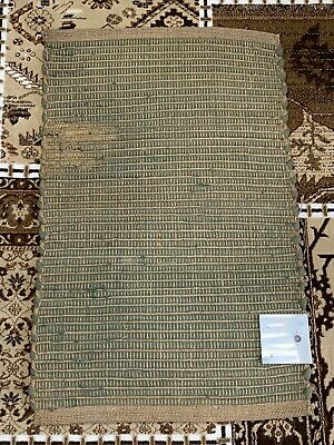 Jute Chindi Rug Hand Made 60X90 Cm 100% Cotton  Multi Colour