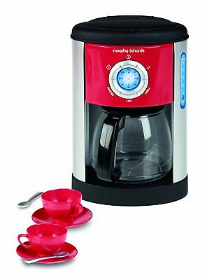 DAMAGED BOX Casdon Morphy Richards Pretend Play Coffee Maker & Cups Toy Playset