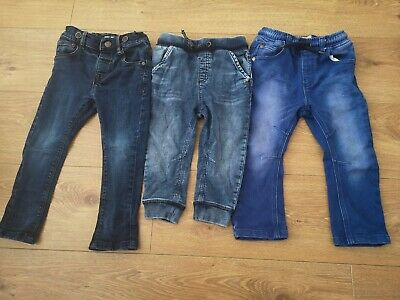 Baby Boys Jeans X 3 From Next Age 1.5-2 Years