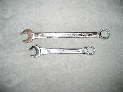 Pair of Open-Ended Spanners (12mm and 14mm)