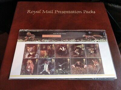 Commemorative Stamps - Woodland Animals - In Original Packet