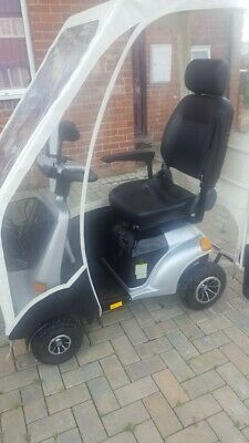 Puma mobility scooter with canopy, 8mph, in excellent condition