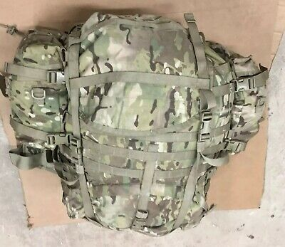 USGI Molle II Multicam Large Rucksack w/ Frame & Sustainment Specialty Pouches