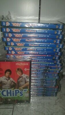 Serie Completa Chips 22 DVD 2 Stagioni 44 Episodi Hobby And Work