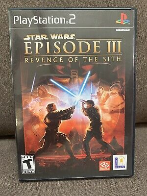 Star Wars: Episode III: Revenge of the Sith (Sony PlayStation 2, 2005) PS2