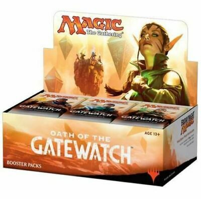 MtG: Magic the Gathering - OATH OF THE GATEWATCH Booster Box - English - Sealed