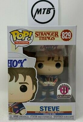 FUNKO POP STRANGER THINGS STEVE 829 BASKIN ROBBINS EXCLUSIVE eleven non chase