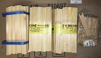Job Lot Of 95 x National Bee Hive DN1, SN1 & DN4 Frame Sides