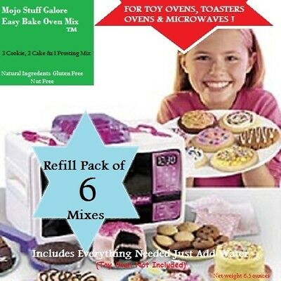 Easy-Bake-Refill-Super-Pack-Oven-Mix-6-Mixes-Mojo's-Ultimate-Cookies-Cake