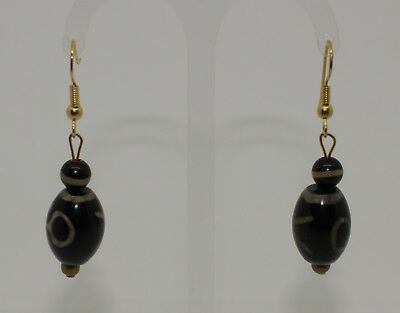 Ancien Glass Bead Earrings - 122