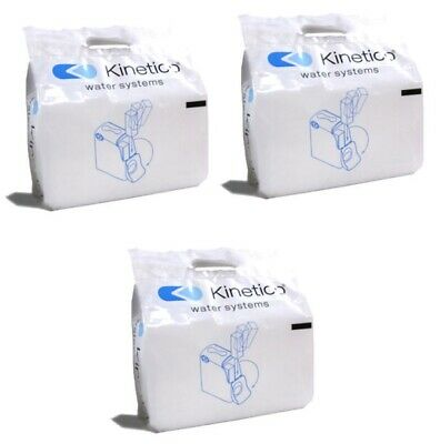 Kinetico Salt Blocks-3pack, 6 blocks 100% pure for kinetico & all other softener