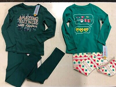 NWT girls size 4/5 lot, Cat & Jack Girls Outfits  Bundle Holiday Christmas