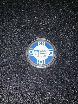 Blue WORLD POKER TOUR WPT Card Guard Protector