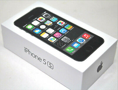 Apple iPhone 5s 16GB Space Gray (Unlocked) AT&T A1533 (GSM) BRAND NEW SEALED BOX