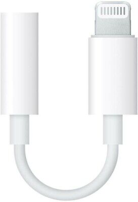 Adaptateur Lightning vers mini-jack 3,5 mm Officiel Apple
