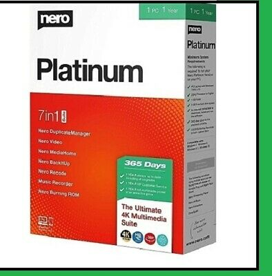Nero Platinum 2020 Suite  > LifeTime > Instant Email Delivery