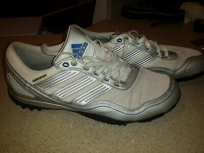 Adidas Puremotion Waterproof Spikeless Golf Shoes Mens US 12 White Silver Blue