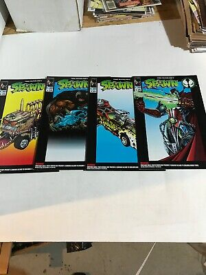 Spawn Comic Lot Toy Issues
