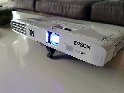 Epson EB-1771W projector with carry bag