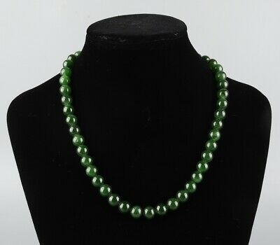 Chinese Exquisite Handmade Hetian jade necklace