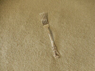 """One Towle Old Master Sterling Silver Dinner Fork+FREE Anti-Tarnish Cloth-7 1/8"""""""