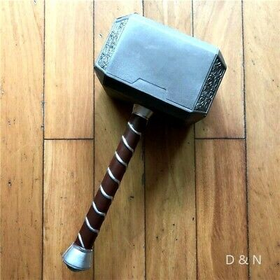 Mjolnir Thor`s Hammer Cosplay Avengers Endgame Movie Marvel Copy Replica 1:1