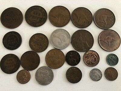 Collection of Old australian (and NZ) Coin