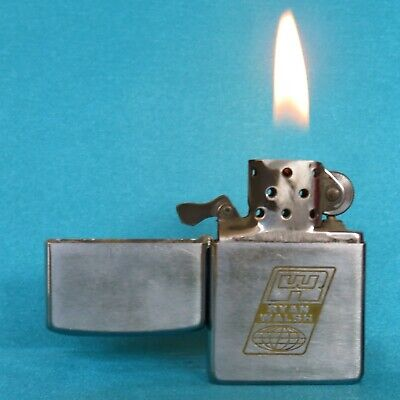 Very Collectable Vintage 1982 Zippo Advertising Lighter.