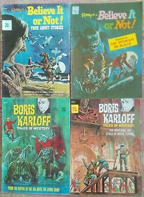 FOUR HORROR Rare Early Comics VG Cond.