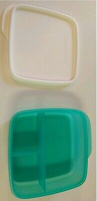 TUPPERWARE Lunch-It® Perfect Portion Divided Dish w/Seal FREE US SHIP Paradise