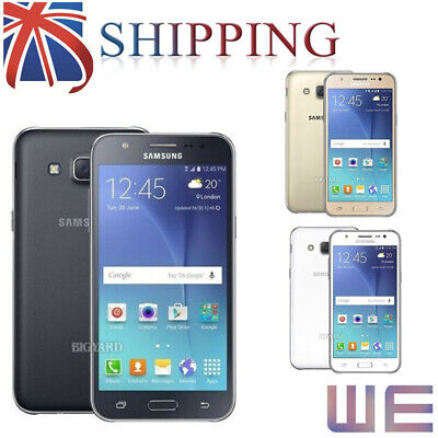Black White Gold New Unlocked SAMSUNG Galaxy J5 J500F Dual SIM Android Phone