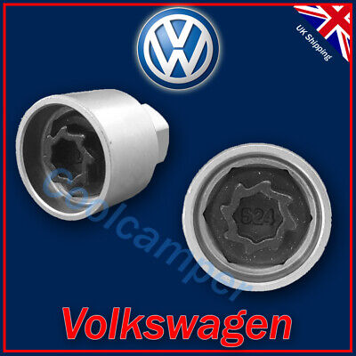 Volkswagen Security Master Locking Wheel Nut Key 524 D 17mm VW Golf Passat T4