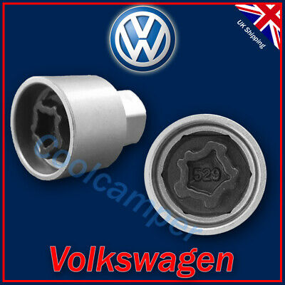 Volkswagen Security Master Locking Wheel Nut Key 529 J 17mm VW Golf Passat T4