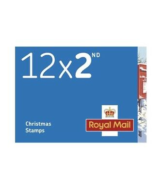 Royal Mail 2nd Class Christmas Stamps. 2018. New. Unused.