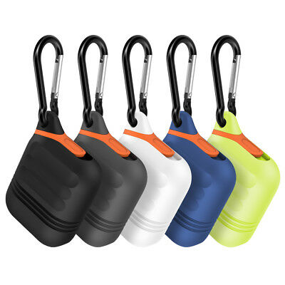For Apple Airpods Case, Moretek Silicone Waterproof Shockproof Cover Cases Skin