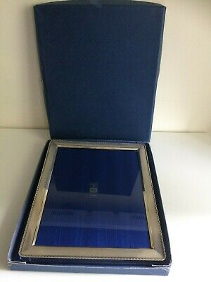 Boxed Sterling Silver Photograph Frame - Birmingham 1997